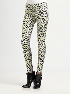Just Cavalli - Leopard Candy-Print Pants