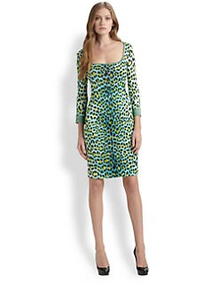 Just Cavalli - Leopard Candy-Print Dress