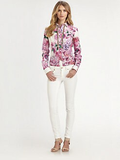 Just Cavalli - Floral-Print Blouse