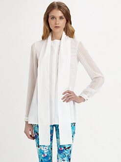 Just Cavalli - Tie-Neck Blouse