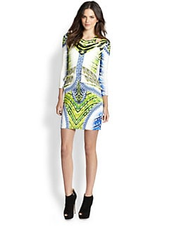 Just Cavalli - Tigerfish-Print Dress