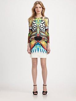 Just Cavalli - Reef-Print Dress