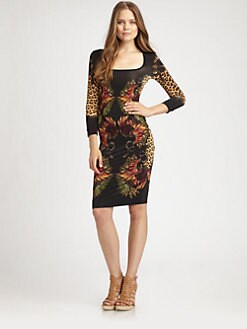 Just Cavalli - Cheyenne Printed Dress