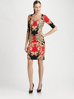 Just Cavalli - Royal Punk Printed Dress