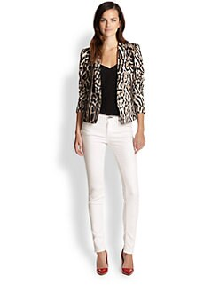 Just Cavalli - Leopard-Print Jacket