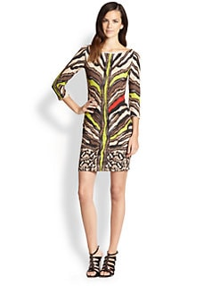 Just Cavalli - Animal-Print Dress