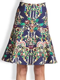 Mary Katrantzou - Space Below the Knee Skirt