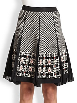 Antonio Marras - Pleated Knit Skirt