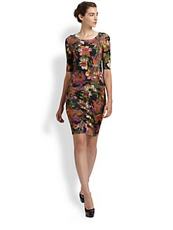 Erdem - Silk Floral Dress