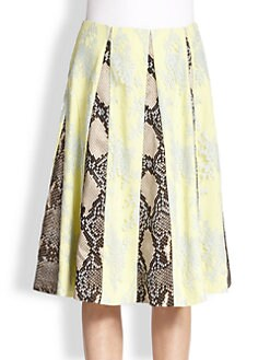 Erdem - Paneled Skirt