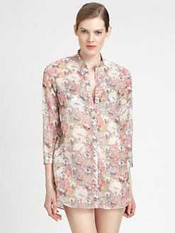 Erdem - Floral Runa Coverup