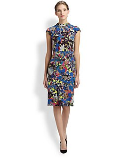 Erdem - Elina Silk Crepe Dress