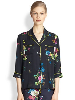 Erdem - Silk Austa Blouse
