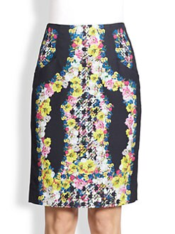 Erdem - Silk Frida Skirt