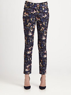 Erdem - Esmerelda Floral Pants