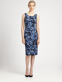 Erdem - Floral Corel Dress