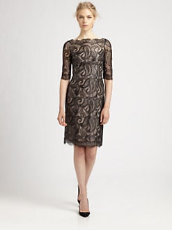 Erdem - Anna Paisley Lace Dress
