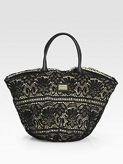Dolce & Gabbana - Lace Basket Bag