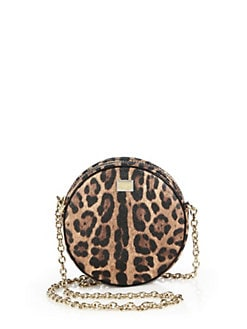 Dolce & Gabbana - Leopard-Print Shoulder Bag