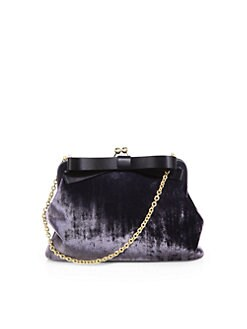 Dolce & Gabbana - Miss Marilu Velvet Clutch