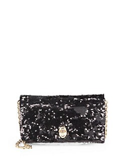 Dolce & Gabbana - Sequined Mini Chain Bag