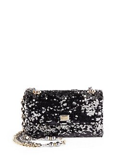 Dolce & Gabbana - Sequined Medium Chain Bag