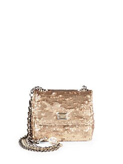 Dolce & Gabbana - Sequined Small Chain Bag