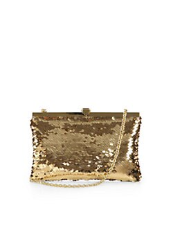 Dolce & Gabbana - Miss Eva Flat Paillette Clutch