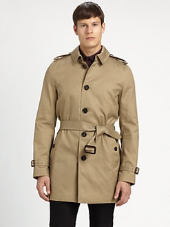 Burberry London - Britton Single-Breasted Rain Coat