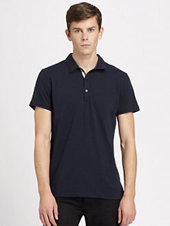 Burberry Brit - Slubbed Polo/Black