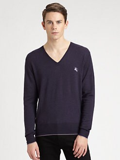 Burberry Brit - Wool V-Neck Sweater