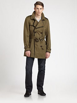 Burberry Brit - Britton Double-Breasted Trenchcoat