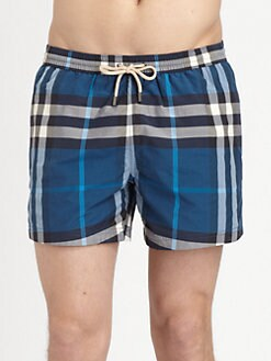 Burberry Brit - Brinn Check Swim Trunks