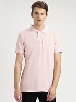 Burberry Brit - Heathered Cotton Polo