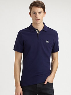 Burberry Brit - Cotton Logo Polo