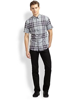 Burberry Brit - Checked Sportshirt