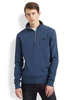 Burberry Brit - Half-Zip Jersey Pullover