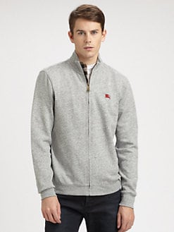 Burberry Brit - Army Zip Jersey Jacket