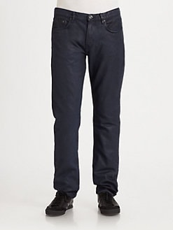 Burberry Brit - Shoreditch Coated Denim Jeans