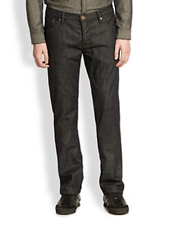 Burberry Brit - Straight-Leg Broken Denim Jeans