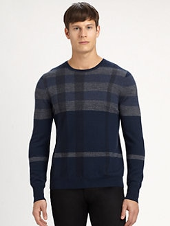 Burberry London - Patrick Check Sweater