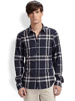 Burberry Brit - Exploded Check Sportshirt