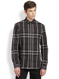 Burberry London - Pembury Basic Check Shirt