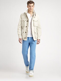 Burberry Brit - Cotton Safari Jacket