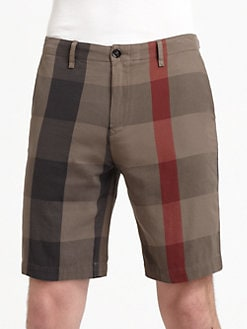 Burberry Brit - Check Cotton Shorts