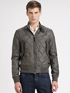 Burberry Brit - Aspen Quilted Bomber Jacket
