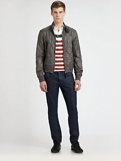 Burberry Brit - Quilted Bomber Jacket