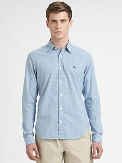 Burberry Brit - Check Cotton Shirt