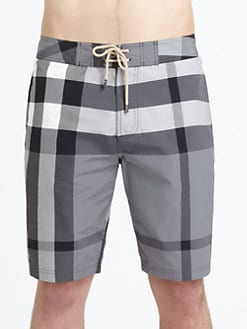 Burberry Brit - Laguna Check Swim Trunks