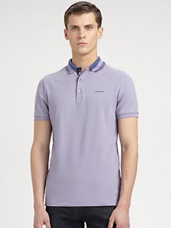 Burberry London - Cotton Polo Shirt
